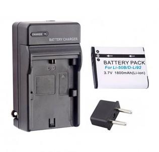 Зарядное устройство на аккумуляторы Li-50B/NP-150/DB-100/Li92/VW-VB090