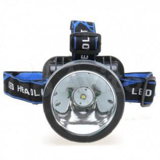 Налобный LED фонарь с аккум 18650 Li-ion 1200Lm