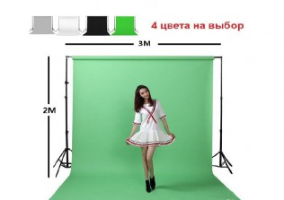 "Комплект блогера и фотографа стойки, фон, ""ворота"""