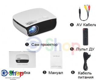 Проектор Rigal RD-850 LED 1280х720 3000Lm Wi-Fi