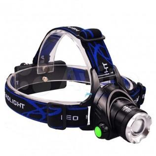 Налобный LED Фонарь T6/V6 + аккум/зар 3000/6000Lm