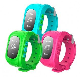 Детские умные часы Q50 с LBS Smart Baby