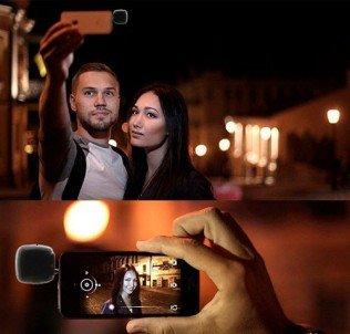 Видеосвет на телефон (смартфон) 16 LED 1.2Вт