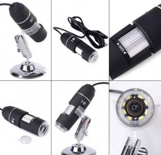 Цифровой микроскоп увеличение 1600x USB