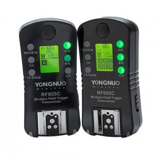 Радиосинхронизаторы триггеры Yongnuo RF-605C