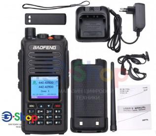 Рация Цифровая Baofeng DM-1702 + GPS 5W