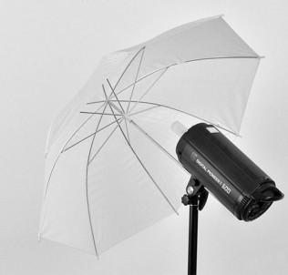 Фотозонт на просвет (белый мягкий свет) 109 см