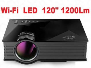 Проекторы с Wi-Fi Unic UC46+/UC68 1080p EZCast LED