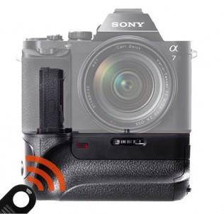 Батарейный блок-ручка на Sony A7/A7S/A7R + пульт