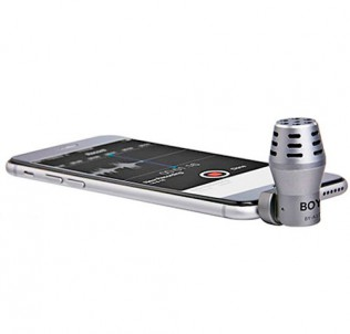 Микрофон BY-A100 для iPhone, iPad, Android
