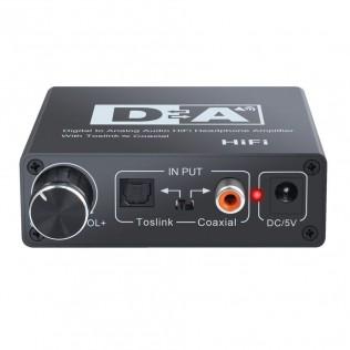 Конвертер Аудио цифро-аналоговый (оптика/AV/3,5)