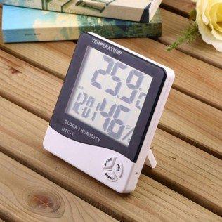 Гигрометр, Термометр и Часы