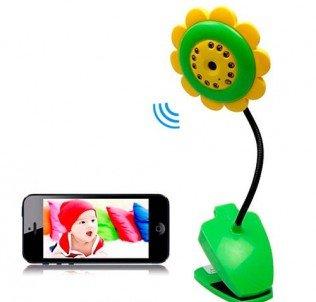 Видеоняня цветок Wi-Fi