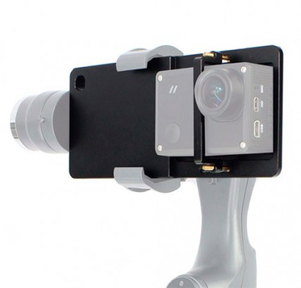 Адаптер GoPro на электронный стабилизатор