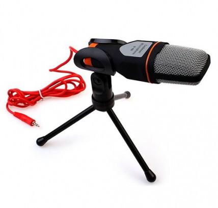 Кардиоидный стерео микрофон на треноге