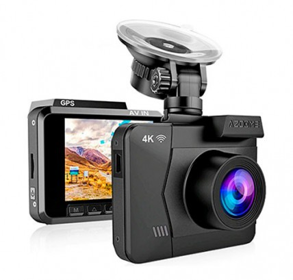 Видеорегистратор 4K Azdome M06 Wi-Fi GPS