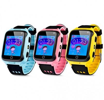 Детские GPS часы GW500S с камерой и фонариком