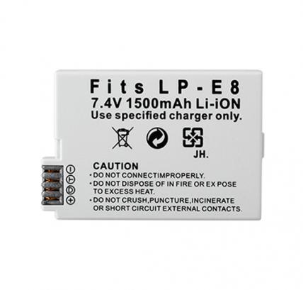 Аккумулятор Canon LP-E8 1500mAh