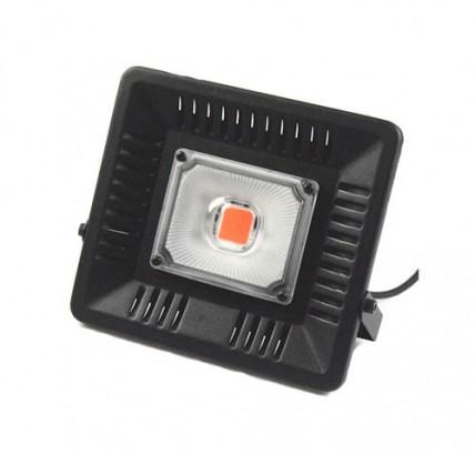 LED прожектор  50W для растений