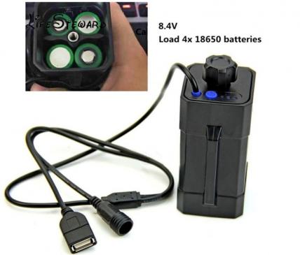 Power Bank для Велофары и Смартфонов под 18650