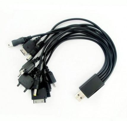 USB кабель универсальный 10 в 1