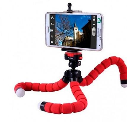 Гибкий мини-штатив для телефона и камеры