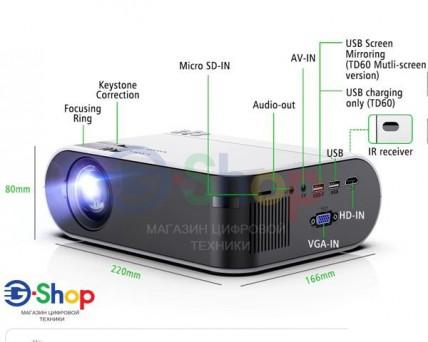 Проектор TD60W Wifi + Android