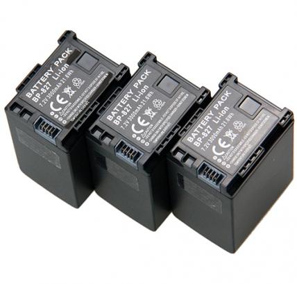 Аккумулятор BP-827 для видеокамер Canon 3000 mAh