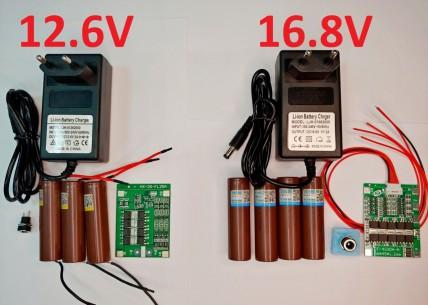 Комплекты для сборки аккумулятора на шуруповерт 12-18 Вольт
