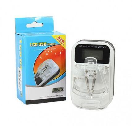 Лягушки для зарядки аккумуляторов с экраном и USB выходом