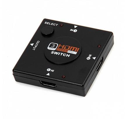 Сплиттер HDMI Hub 3x1 / HDMI Hub 3x1 с проводом