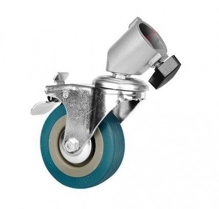Колеса-ролики для стоек с тормозом 3 шт.