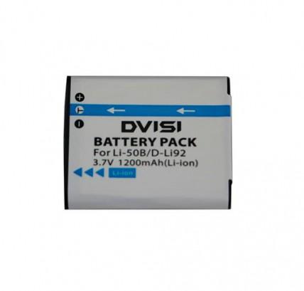 Аккумулятор Li-50B/NP-150/DB-100/D-Li92/VW-VBX090 1200 mAh
